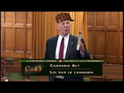 Bill C45 Cannabis Act Highlights from May 30 2017