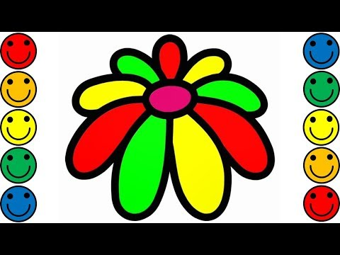 how-to-draw-flower-for-kids-|-flower-drawing-&-coloring-for-kids-|-coloring-pages-for-children
