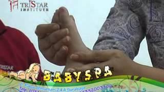 baby spa, pelatihan teknik cara memijat bayi