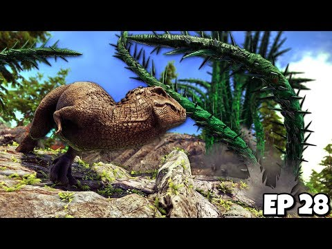 DESTROYING the Creepy Vine BOSS! But at What Cost...? | ARK Survival Evolved Jurassic Modded #28