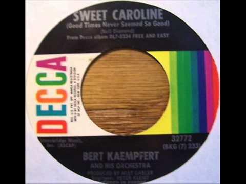 Bert Kaempfert and His Orchestra - Sweet Caroline (1970)