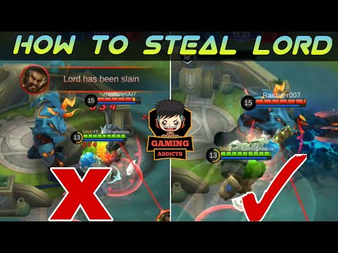 How To Steal Lord - Full Guide And Skin Giveaway   Mobile Legends Bang Bang