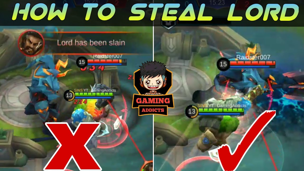 How to steal lord - Full Guide and Skin Giveaway | Mobile Legends Bang Bang