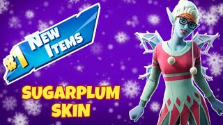 NEW Sugarplum Skin! FORTNITE Live Stream!