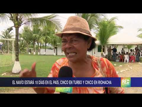 RED+ | El buque hospital estadounidense Comfort ya está en Colombia