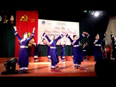 Múa Tày - 53 Mầm non - khoa Giáo dục - Đại học Vinh