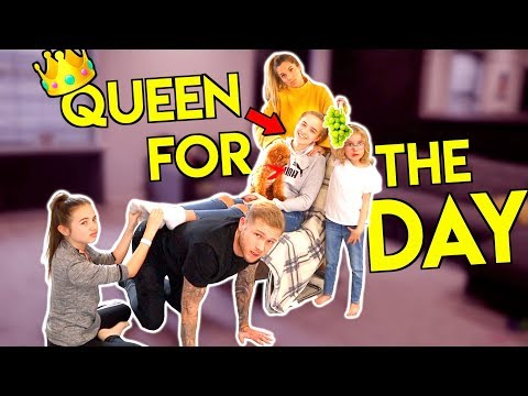 TEEN CONTROLS OUR DAY *Family can't say NO to Kaci for 24 hours!!*