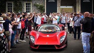 How to EMBARRASS Big Car Manufacturers: Unveil a $850,000 De Tomaso