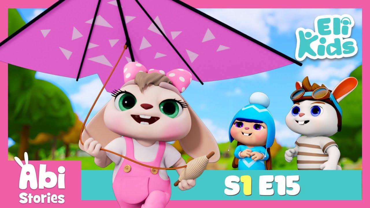 Kite Day - Abi Stories Episode 15   Eli Kids Educational Cartoon