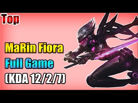 SKT T1 MaRin - Fiora vs Shen - Top - Full Game (Sep 20, 2015)