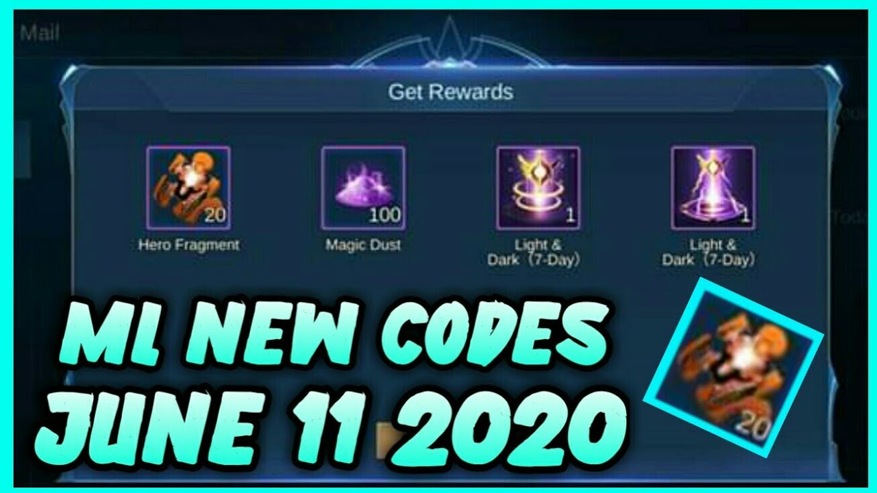 ML New Codes June 11 2020 - YouTube