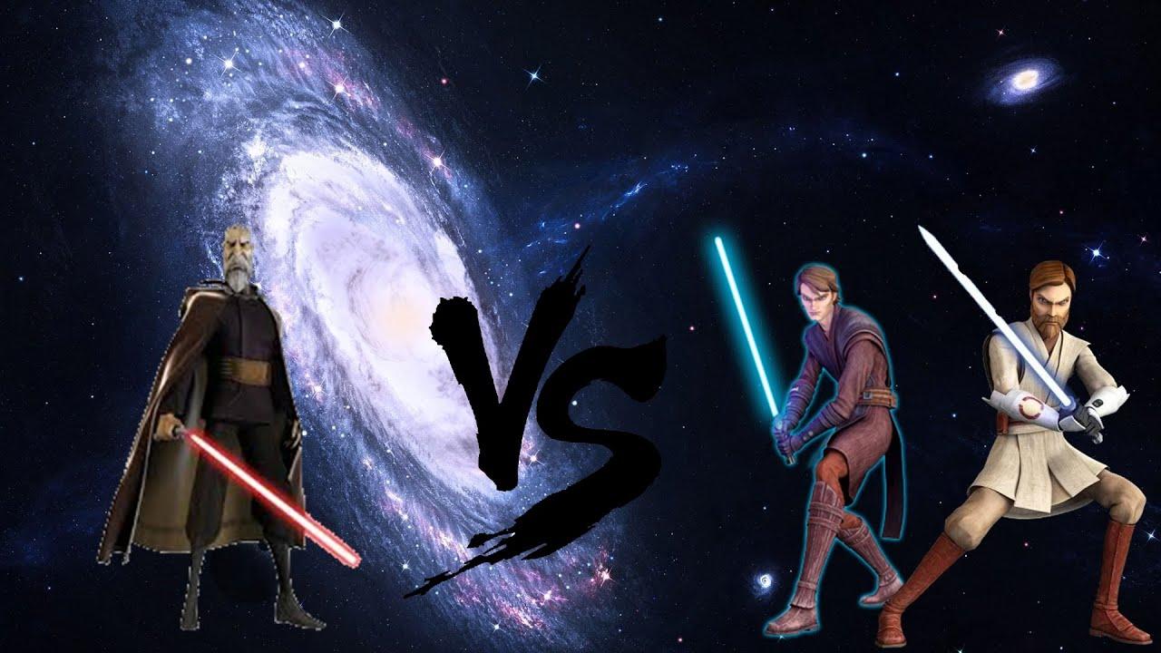 Star Wars the Clone Wars Obi van Kenobi & Anakin Skywalker ...