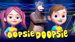 Oopsie Doopsie Dance Song | Kids Music & Nursery Rhymes - Little Treehouse
