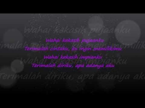 Kata Hati Wahai Kekasih lyric video