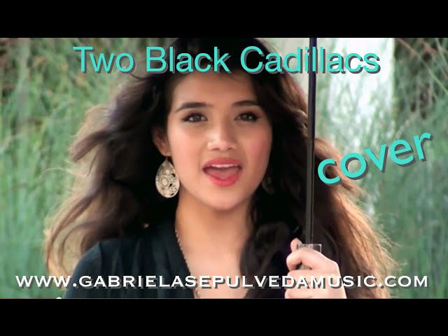 """TWO BLACK CADILLACS""  COVER"