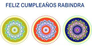 Rabindra   Indian Designs - Happy Birthday