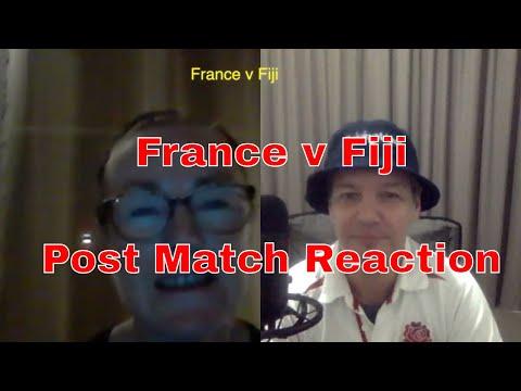 France V Fiji Post Match Reaction - November Internationals