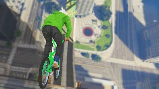 Repeat youtube video INSANE BMX WALLRIDES!(GTA 5 Funny Moments)