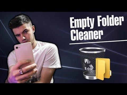 Как быстро удалить пустые папки / Как ускорить смартфон
