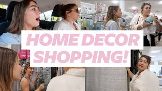 HOME DECOR SHOPPING WITH ME, MOM & SISTER!! | Julia Havens
