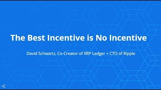 The Best Incentive is No Incentive