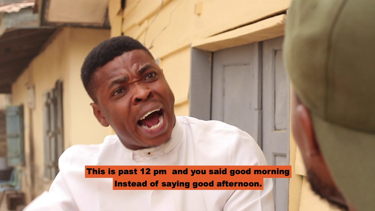 Episode 1, Daddy, the Corrector. Woli Agba Latest Comedy