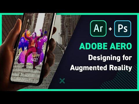 Designing an Augmented Reality scene in Adobe Aero