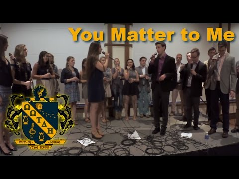 You Matter to Me - A Cappella Cover   OOTDH ft. Freshly Brewed