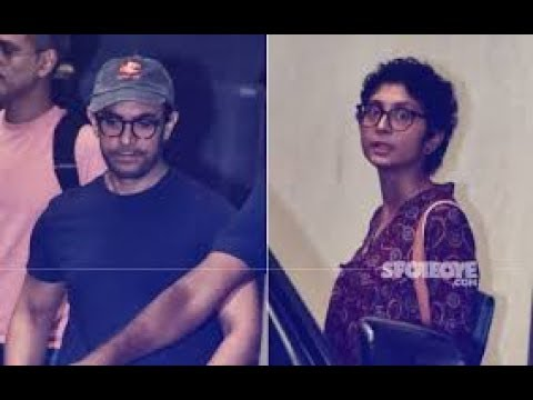 Aamir Khan And Kiran Rao Attend Producer's Guild Meet, Discuss #MeToo And Safety of Women | SpotboyE