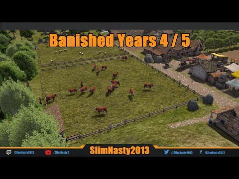 Banished Tutorial Year 4 & 5 - Map Seed is 100597162