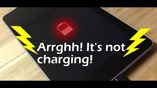 Tablet or phone not charging?  What might be wrong and how to fix it!