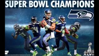 NEW 2014 Seahawks Superbowl Blue and Green Remix (TNT) Superbowl version
