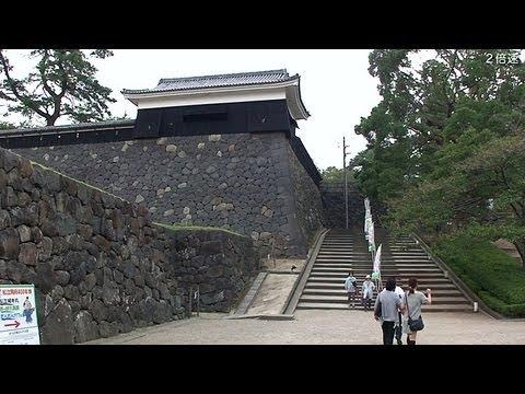 松江駅から松江城 (2倍速) Matsue Station to Matsue Castle