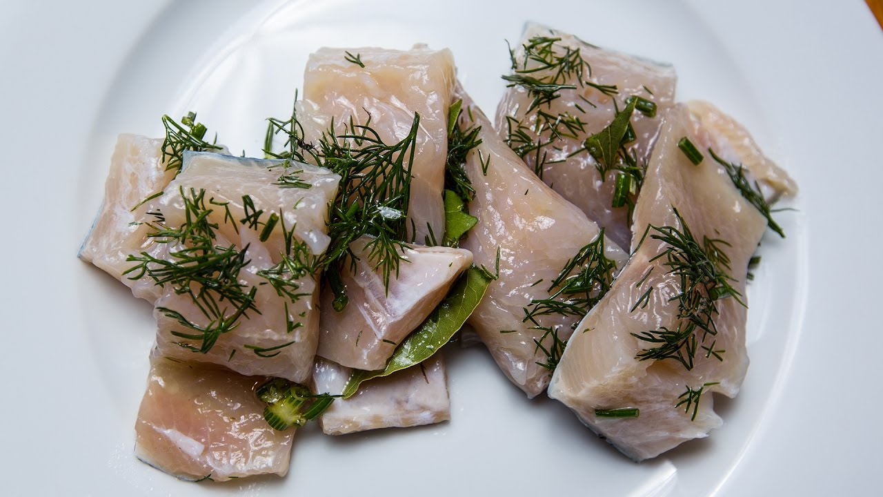 Рыба: Как засолить рыбу от Василия Емельяненко