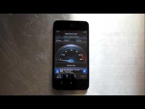 MEIZU MX 4-Core T-Mobile HSPA+ speed test