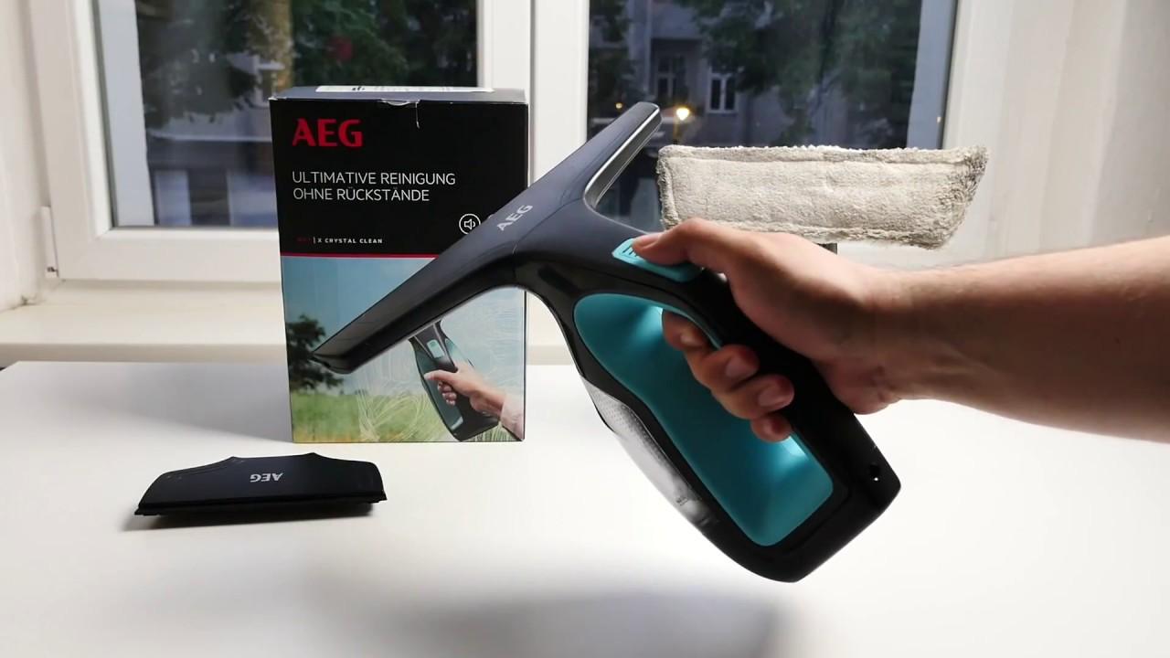 Test AEG WX7 Fensterreiniger Akku Fenster Sauger