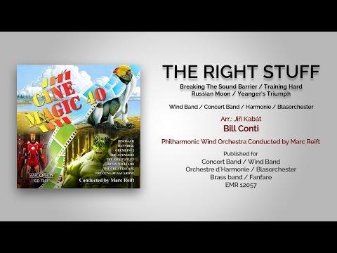Marc Reift - The Right Stuff (Bill Conti, Arr.: Jiri Kabat)