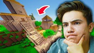 KRALLIĞI EVİMİZ YAPIYORUZ ! - Minecraft Hexxit