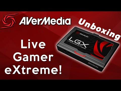 AVerMedia Live Gamer Extreme (LGX) USB 3.0 Capture Card Unboxing! w/TBNRkenWorth | TBNRKENWORTH
