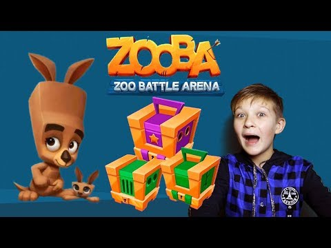 Zooba! New HERO🐱 Open the boxes 📦 We play together