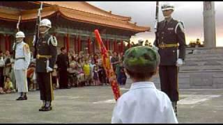 3歲小娃 ryan 小禮兵 與 中正紀念堂 三軍 儀隊 honor guard 3years old