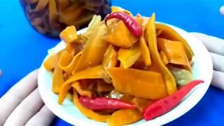 Cách làm Cà Rốt ngâm nước tương ngon đậm đà giòn và lạ miệng by Xanh TV