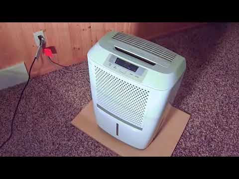 Frigidaire FAD504DWD Energy Star 50 pint Dehumidifier Review