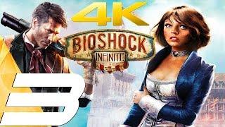 BioShock Infinite - Gameplay Walkthrough Part 3 - Monument Tower & Elizabeth [4K 60FPS]