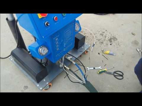 Polyurethane Spray Coating  Installation Video
