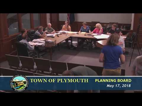 Plymouth Planning Board 5/17/18