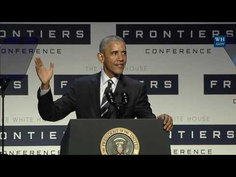 Obama At Frontiers Conference In Pittsburgh - Full Speech