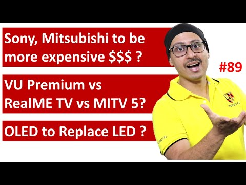 VU Premium TV vs RealMe TV vs MI TV 5 | Casio Sony Mitsubishi going to be Expensive ...