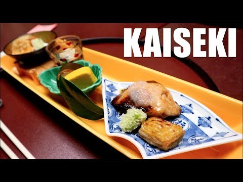 Japanese KAISEKI (Multi-Course Meal) and Pastries!!  - Osaka 2