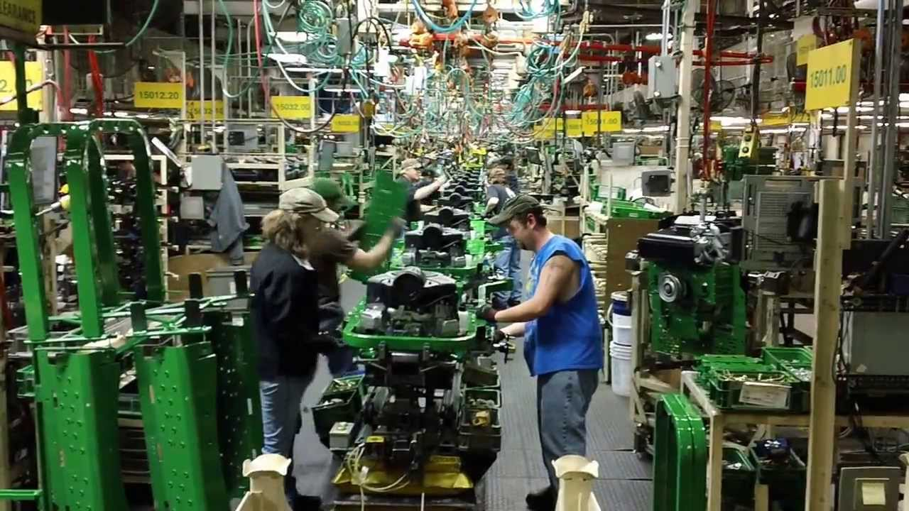 John Deere Assembly Line : John deere assembly line youtube